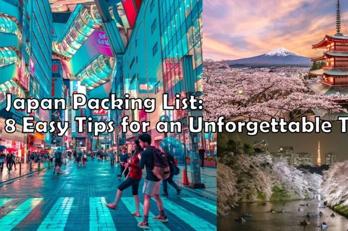 Japan Packing List: 8 Easy Tips for an Unforgettable Trip
