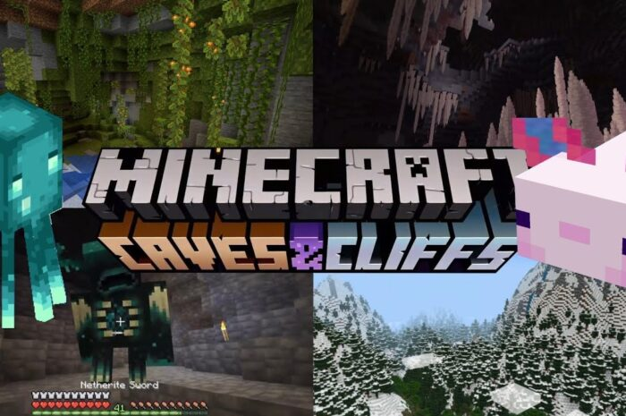 Partially Delayed – Minecraft Caves & Cliffs Split In Two
